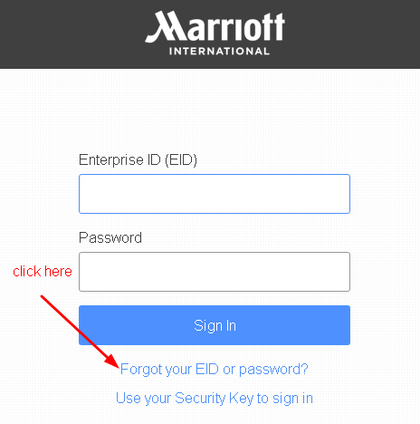 4MyHR Forgot EID Or Password Option