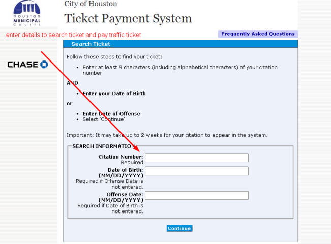 Pay a Traffic Ticket Online in Texas