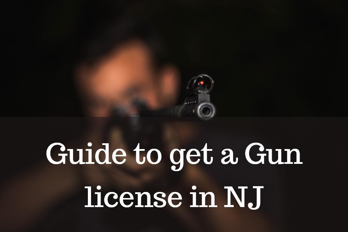 get a gun license in New Jersey