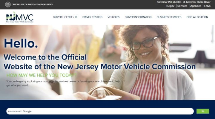 NJMVC Official Homepage