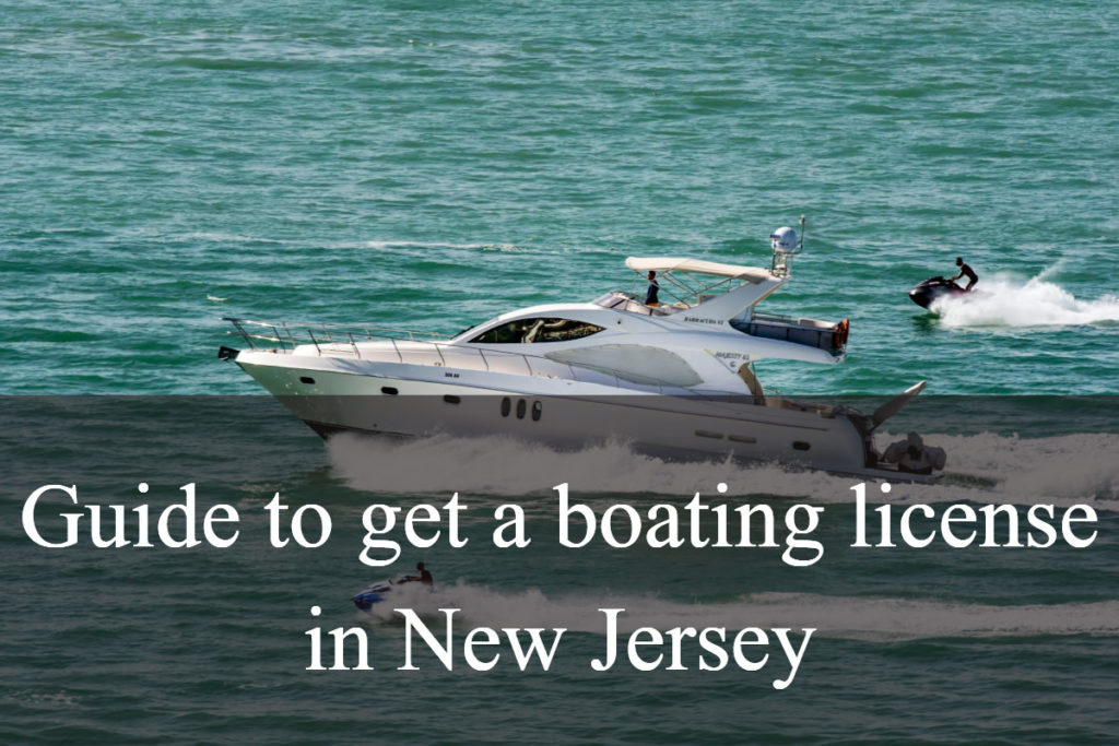 get a boating license in New Jersey